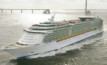 Cruiseschip Liberty of the Seas van rederij Royal Caribbean International