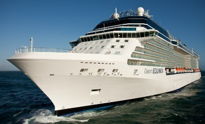 Cruiseschip Celebrity Equinox van rederij Celebrity Cruises