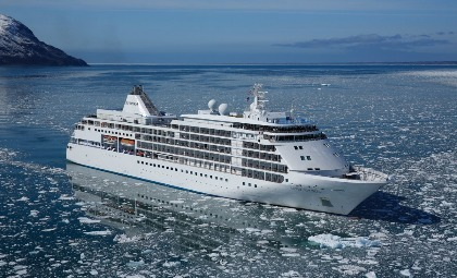 Cruiseschip Silver Shadow van rederij Silver Sea
