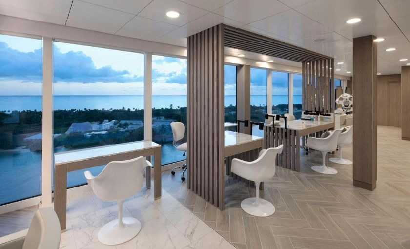 Celebrity Edge spa salon